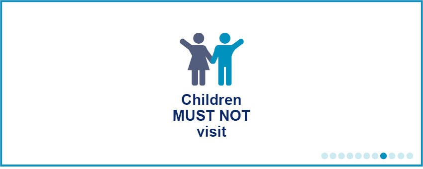 Do not bring children