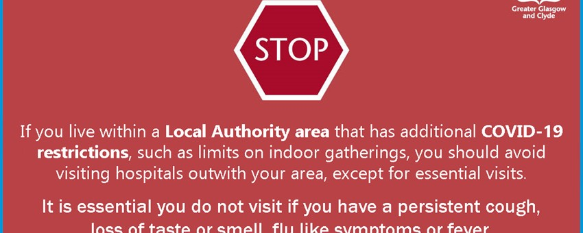 Stop - Lockdown areas.